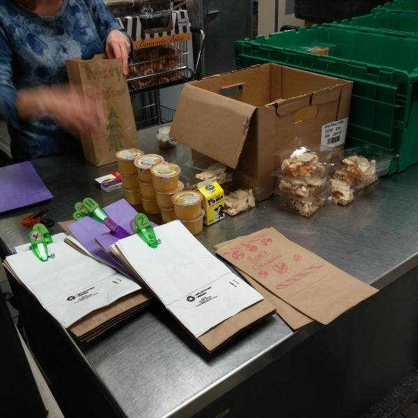 Packing items for each delivery route